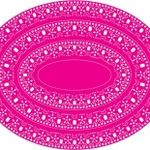Oval Doily Stacker One