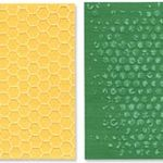 Sizzix Texture Fades Embossing Folders Bubble & Honeycomb