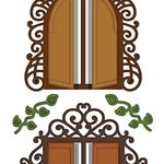 Decorative Chateau Gate Die