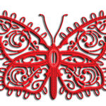 Lace Flourish Butterfly